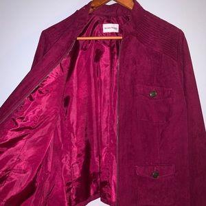 Studio Works magenta fashion jacket